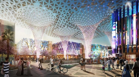 Expo 2020 Dubai site to be completed ahead of time