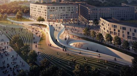 Zaha Hadid Architects sign on to design metro project in Oslo with Norway practice A_Lab
