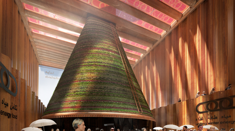 Images revealed of the Dutch 'climate-generating' pavilion for Expo 2020 Dubai