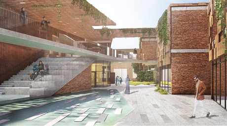 COdESIGN creates 'walled village' for Baghdad Design Centre competition