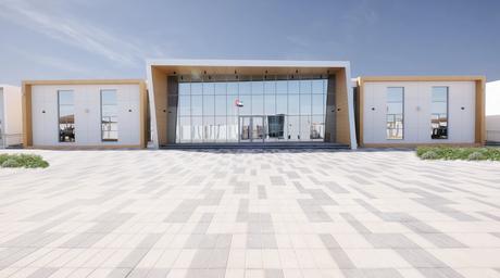 ATI designs origami-inspired private school in the UAE's Umm Al Quwain