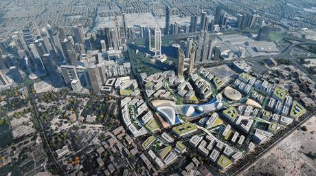 Dubai ruler reveals expansion plans for Dubai's financial district
