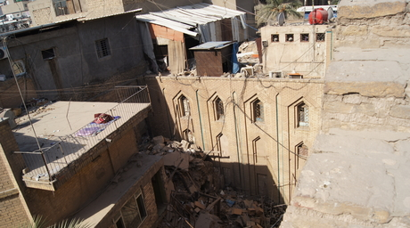 Recently demolished church in Baghdad to be replaced with commercial development