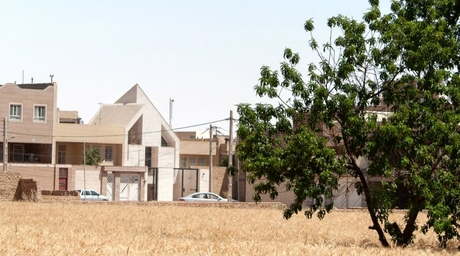 Apartment building in Iran features angular facade