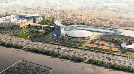 CallisonRTKL-designed tennis complex in Kuwait on track for 2019 opening