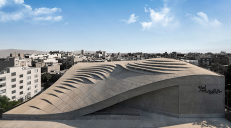 Fluid Motion Architects designs controversial mosque in Tehran that challenges traditional Islamic design