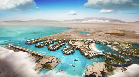 OAOA designs a luxury masterplan project for Aqaba, Jordan