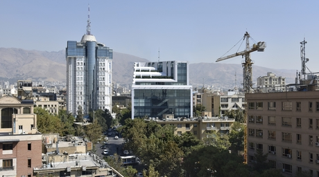 A commercial development in the centre of Tehran is designed as a 'mega store' by Razan Architects