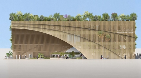 Belgium Pavilion for Expo 2020 Dubai to be zero-waste structure driven by eco-design