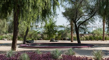A public space in Dubai designed by Loci reinterprets the Japanese rock garden