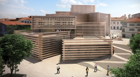 Kengo Kuma's timber-clad modern art museum in Turkey is set for June opening