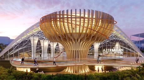 Azerbaijan reveals nature-inspired pavilion for Expo 2020 Dubai