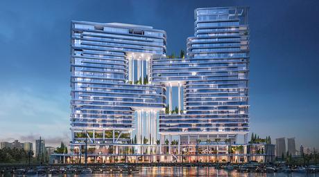 Foster + Partners-designed Dorchester hotel in Dubai set for 2020 completion