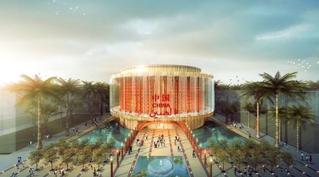 China reveals lantern-inspired pavilion design for Expo 2020 Dubai