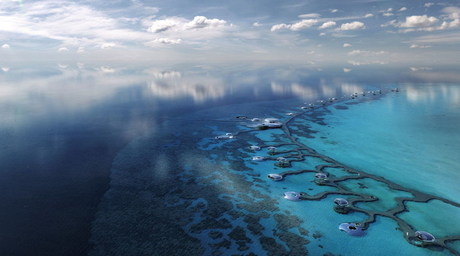 Construction on Saudi Arabia's Red Sea project aims to minimise environmental impact
