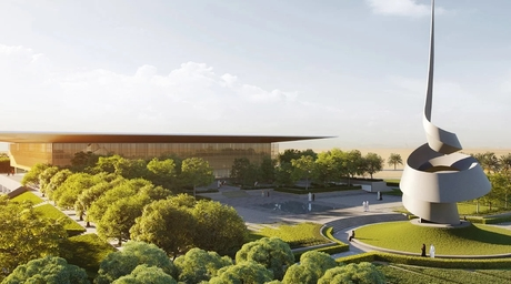 Sharjah ruler reveals Foster + Partners-designed cultural centre