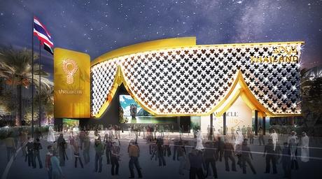 Thailand's flower-inspired pavilion for Expo 2020 Dubai breaks ground