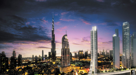 Dewan Architects + Engineers designs mixed-use high-rise towers in Downtown Dubai for Emaar