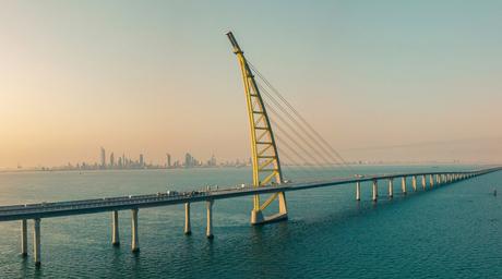 Dar Al Handasah and SSH-designed Sheikh Jaber Causeway in Kuwait opens