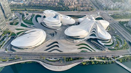 New images of ZHA-designed cultural centre in China revealed