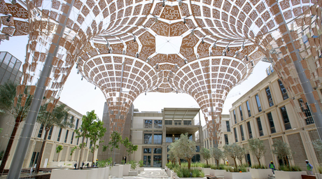 Video: Take a tour of the newly completed thematic districts for Expo 2020 Dubai