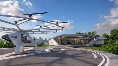 Graft designs port for air taxis