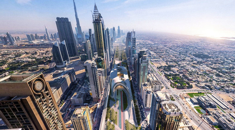 Mouaz Abouzaid and Dima Faraj propose urban regeneration concept for Dubai
