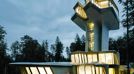 Photographs reveal Zaha Hadid's only completed private residence