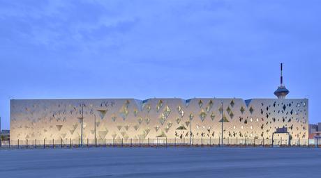 Photographer Phil Handforth reveals images of Henning Larsen's Institute of Diplomatic Studies in Riyadh