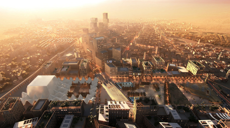 Cairo urban regeneration concept proposed by Dubai-based architects