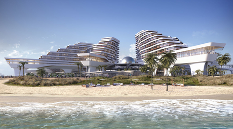 Construction begins on UNStudio-designed island in Dubai