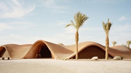 Oppenheim Architecture completes desert-inspired clubhouse in Aqaba, Jordan