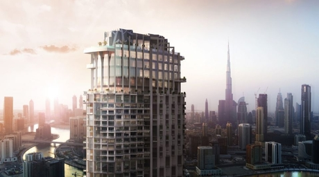 Plans revealed for new tall tower in UAE
