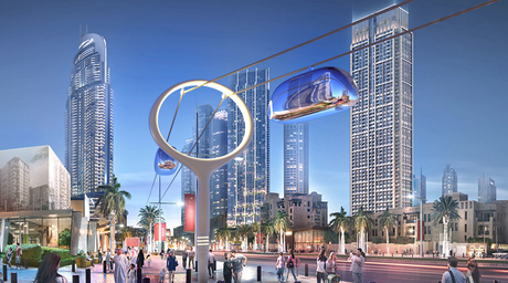 New skypods designed by LWK+Partners planned for Dubai