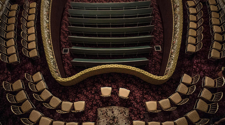 A look inside a recently restored theatre near Paris, funded by UAE President