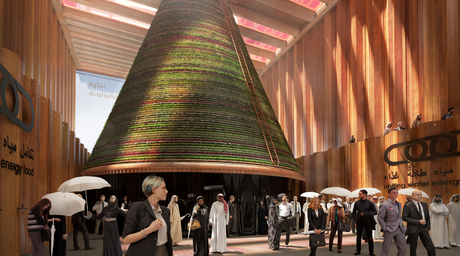 The Netherlands pavilion for Expo 2020 to produce water from desert air using solar power
