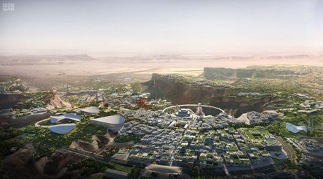 Saudi Arabia unveils masterplan for BIG-designed 'Capital of Entertainment'