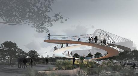 110m pedestrian bridge designed for Dubai's Umm Suqueim neighbourhood