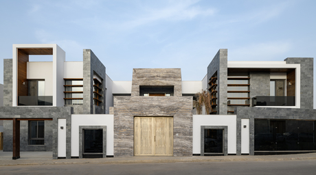 Hisham Alaa designs a contemporary tropical palace in Egypt