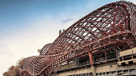 New images released of ZHA-designed KAFD Station for Riyadh Metro