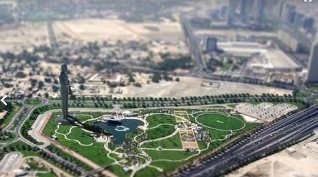 Dubai's moving statue explained