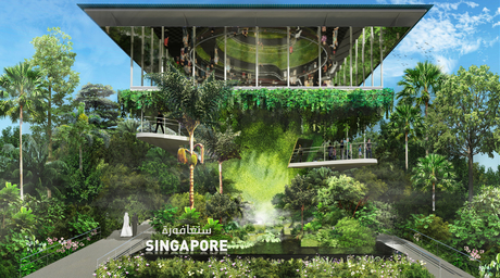 WOHA's design for Singapore Expo 2020 pavilion integrates nature and architecture