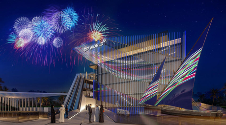 DP World's Dubai pavilion for Expo 2020 features augmented reality