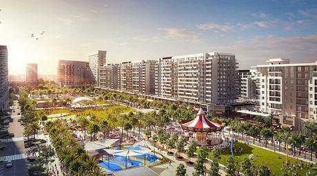 Dubai's Town Square Park nears opening