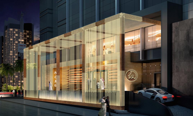 Riyadh, Saudi Arabia, Saudi projects, Rockwell Group, Nobu Hotel Riyadh