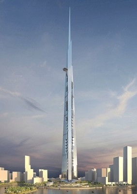 Adrian Smith + Gordon Gill Architecture, Architecture, Architecture news, Buildings, Construction, Jeddah, Jeddah Tower, Jeddah Tower completion, Jeddah Tower delay, Middle East, Saudi Arabia, World's tallest tower