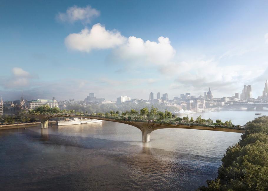Funding, Garden Bridge, London Garden Bridge project scrapped, Sadiq Khan, Thomas Heatherwick, Thomas Heatherwick Garden Bridge
