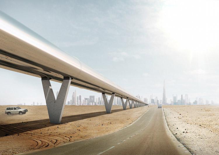 Architecture, BIG, Bjarke Ingels, Hyperloop, Infrastructure, Transport, World Future Energy Summit