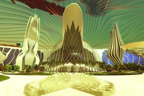 Canadian University Dubai, City on Mars, CUD, Dubai, Mars, Mars architecture, NYU Abu Dhabi, Space gum, UAE Mars mission