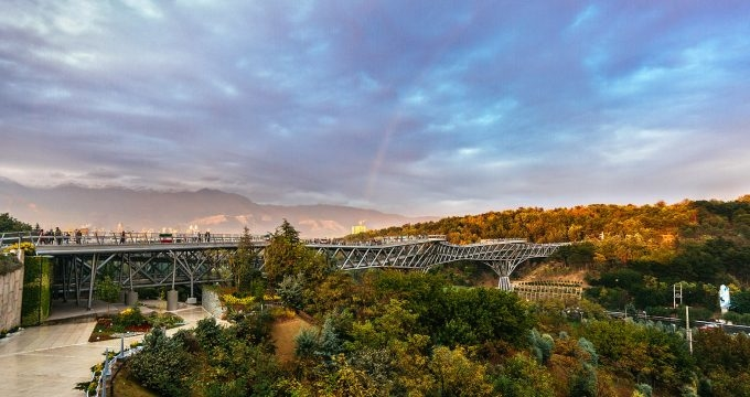 Aga Khan Award for Architecture, Connecting Histories, Indian Institute of Architects, Iran, Leila Araghian, Tabiat Bridge, Tehran